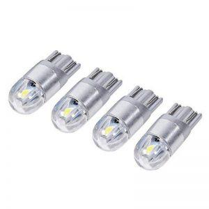 VGEBY 4 Pcs LED Ampoules Lampe Veilleuse Voiture Lumière Intérieure Feux De Gabarit Angle D'Eclairage 360° 12V DC T10 W5W 168 de la marque VGEBY image 0 produit
