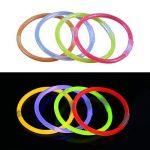 Vicloon 100PCS Bâtons Lumineux Fluorescents, 5 Couleurs Différentes Bracelets Fluos Lumineux pour Carnaval,Fête,Anniversaire de la marque Vicloon image 2 produit