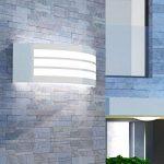 vidaXL Applique murale extérieure en acier inoxydable de la marque vidaXL image 1 produit