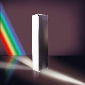 vientiane Prisme Triangulaire,Verre Optique en Cristal,Triple Réfracteur Triangulaire de Prisme pour Spectre de Lumière D'enseignement de Physique de la marque vientiane image 0 produit