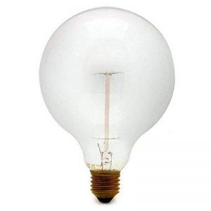 Vintage 40W Filament Carbone Cage Écureuil Lampe 120mm Ampoule Globe à incandescence de la marque Various image 0 produit