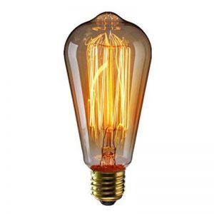 Vintage Edison Ampoule ST6440W E27ampoule à incandescence Retro industriel design leuucht pour chacun Nostalgie Méditerranée de la marque HLHL image 0 produit