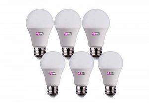 VIP LED Lot de 6ampoules LED en forme de goutte A60,culot E27, 10W, 900 lumens, lumière naturelle 4000K° de la marque VIP LED image 0 produit