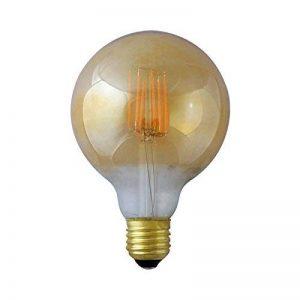 Vision-EL 77153 Ampoule LED E27 G95 Filament 8W 4000°K, Verre, 8 W, Transparent Cuivré de la marque Vision-EL image 0 produit