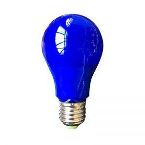 Vision-EL 773891 Ampoule LED E27 Bulb 10W, Aluminium/PC, 10 W, Bleu de la marque Vision-EL image 0 produit
