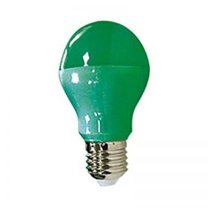 Vision-EL 773893 Ampoule LED E27 Bulb 10W, Aluminium/PC, 10 W, Vert de la marque Vision-EL image 0 produit