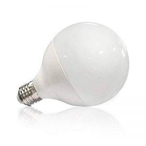 Vision-EL 77436B Ampoule LED E27 Globe 20W 4000°K, Aluminium/PC + Verre, 20 W, Dépoli de la marque Vision-EL image 0 produit