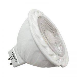 Vision-EL 77820 Ampoule LED Spot Céramique 2800°K, Aluminium/PC, GU5.3, 6 W, Blanc de la marque Vision-EL image 0 produit