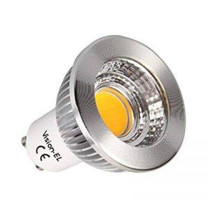 Vision-EL 778418 Ampoule LED GU10 Spot 5W Dimmable 3000°K Aluminium, PC, 5 W de la marque Vision-EL image 0 produit