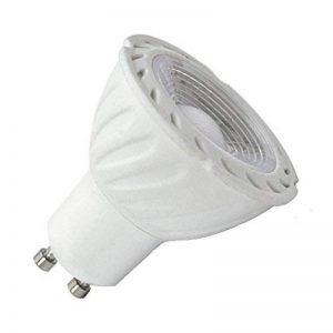 Vision-EL 778611 Ampoule LED GU10 Spot 6W Dimmable 4000°K, Aluminium/Polycarbonate, 6 W, Blanc de la marque Vision-EL image 0 produit