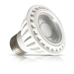 Vision-EL 77871 Ampoule LED E27 Spot Dimmable 6W 3000°K, Aluminium/PC, 6 W, Blanc de la marque Vision-EL image 0 produit