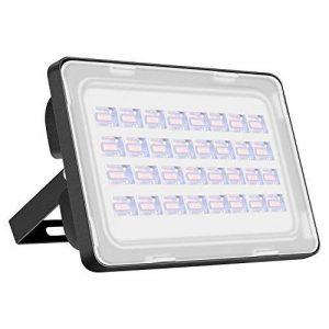 Viugreum® 100W Projecteur LED Extérieur Spot Lumière Puissant 12000 Lumen Eclairage de Sécurité au Sol Chantier Travaux Jardin - Etanche IP65 [6F] - Blanc Chaud (2800-3000K) de la marque Viugreum image 0 produit