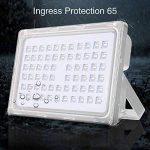 Viugreum® 200W LED Projecteur Extérieur Spotlight Lumière d'Inondation Ultra Lumineux - Imperméable IP65 Aluminium Mat [6F] - Blanc Froid (6000-6500K) de la marque Viugreum image 2 produit