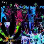 Viugreum® UV LED Bar, 27W 9 LEDs Barre Jeux de Lumière LED UV Blacklight, Lampe Ultra-Violet Eclairage Puissant pour Affiches Maquillage Peinture Corporelle Fluo Deco Effect Soirée Party Club Bar … de la marque Viugreum image 4 produit