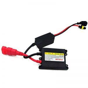 Vococal Voiture Phare 35W HID Ballast Slim pour H1 H3 H4 H6 H7 H8 H9 H10 H11 H13 9004 9005 9006 9007 Lampe Xénon de la marque Vococal image 0 produit
