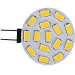 WELSUN G4 Ampoules LED 3.5 W 15LED SMD 5730 220-260 LM K Blanc Chaud / Cool Blanc Bi-pin Lights AC 12-24 V 10pcs ( Color : Warm white ) de la marque WELSUN image 1 produit