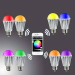 WiFi Ampoule Alexa IFTTT- VICTORSTAR LED L'ampoule Fonctionne avec Alexa, IFTTT, iOS, Appareils Android par App, Contrôle de Groupe, Scène, Minuterie, Synchronisation de Musique Mode Lumière Variée, E27, 7W de la marque VICTORSTAR image 3 produit