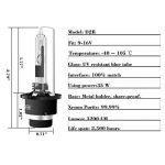Win Power D2R HID Xénon Ampoule de Remplacement Kit 35 W 6000 K Cool Blanc Métal Stents 12V Lampe de Conversion de Phare de Voiture, 1 Paire de la marque Winpower image 4 produit