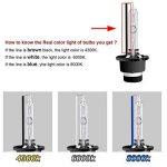 Win Power D2S D2R Ampoule Xénon HID Lampe de Rechange pour 12V 35W Voiture Phare Avant 4300K 6000K 8000K, lot de 2 de la marque Winpower image 3 produit