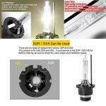 Win Power D2S D2R Ampoule Xénon HID Lampe de Rechange pour 12V 35W Voiture Phare Avant 4300K 6000K 8000K, lot de 2 de la marque Winpower image 2 produit