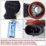 Win Power H8 12V 100W Lampe Xénon Halogène Ampoule Lumière Blanche 6000K, 2 pièces de la marque Winpower image 3 produit