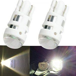 WLJH 2 pcs T10 W5 W 168 194 Super Lumineux 5 W 6000 K Blanc Auto Voiture Feu de position côté marqueur veilleuses Dome Lampe de lecture ampoules pour Civic A4 Edge de la marque WLJH image 0 produit