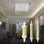 Worled Pack-2Ampoule LED R7S céramique 135mm 12W équivalent 150W halogène blanc chaud ou froid, ampoule type Maiz, cri > 80classe d'efficacité énergétique a +] Moderne Blanc froid de la marque WORLED image 1 produit