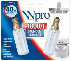 Wpro LMH009 Blister de 2 Ampoule E14 T25L 40 W 230-240 V de la marque Wpro image 0 produit