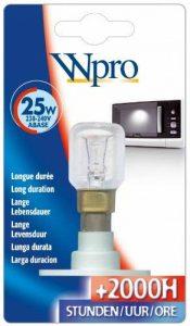 Wpro LMO006 Ampoule Micro Onde ABase T25 25 W 220 V de la marque Wpro image 0 produit