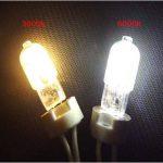 Wulun 10-pack G92W ampoules LED, ampoules halogène G9de 25W de remplacement, G92W COB ampoules LED à économie d'énergie, Blanc Froid 6000K Lampes à LED, AC 220–240V, 360° Angle de faisceau, variateur d'intensité, 250lm, IRC > 80 de la marque WULU image 2 produit