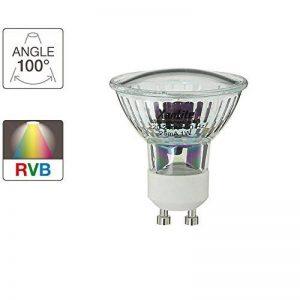 Xanlite ALG21RVB Ampoule 21 LEDs Change RVB 1,4 W GU10 Transparent de la marque Xanlite image 0 produit