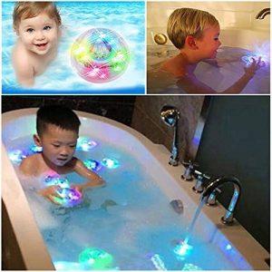 Xinxun 2 pcs Enfants Jouets de Bain de lumière de l'eau de Bain Jouets de Bain flottants légers de la marque Xinxun image 0 produit