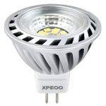 Xpeoo® Pack de 10 unités 6W LED MR16 GU5.3 lumière du jour Ampoule Equivalente à une Halogène de 50 W Spot Light Design Avant-gardiste Lampe Lamp lumière Bulb 520 lm Cool White Blanc froid Naturel Neutre 4500-5000k Éclairage DC AC 12V de la marque CYLED image 1 produit