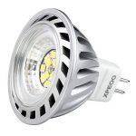 Xpeoo® Pack de 10 unités 6W LED MR16 GU5.3 lumière du jour Ampoule Equivalente à une Halogène de 50 W Spot Light Design Avant-gardiste Lampe Lamp lumière Bulb 520 lm Cool White Blanc froid Naturel Neutre 4500-5000k Éclairage DC AC 12V de la marque CYLED image 2 produit