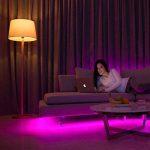 Yeelight A60 10W Smart LED Lampe de lumière Wifi e27 800lm Multicolore 220V, barre de gradateur via iOS et système Android, compatible avec Amazon Alexa et Google Home de la marque Yeelight image 4 produit