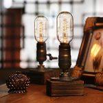 Yuens Vintage Loft Lampes de table Dimmable bois bureau lampe maison Light Bar Decor de la marque YUENSLIGHTING image 2 produit