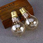 YUNLIGHTS Dimmable Edison Lampe A19 220-240V 40W 140lm E27 Edison Ampoule Antique Lampe Blanc chaud- 2 Pack de la marque YUNLIGHTS image 4 produit