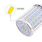 YWXLight LED Ampoule à maïs, lampe de rue LED, projecteur à 360 degrés, pour garage, allée, entrepôt, ampoule à LED Sch LED, 35W, 45W, ampoule LED 60W, (E26 / E27) Cold White 5500K-6500K, (35W-Lumière froide) de la marque YWXLight image 4 produit