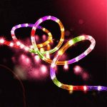 ZahuihuiM LED lumière solaire chaîne légère, fée ampoule tube de lampe de jardin cour de jardin partie décorative introduction pour halloween noël festival de la marque zahuihuiM-Lampe image 2 produit