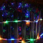 ZahuihuiM LED lumière solaire chaîne légère, fée ampoule tube de lampe de jardin cour de jardin partie décorative introduction pour halloween noël festival de la marque zahuihuiM-Lampe image 1 produit