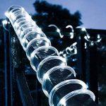 ZahuihuiM LED lumière solaire chaîne légère, fée ampoule tube de lampe de jardin cour de jardin partie décorative introduction pour halloween noël festival de la marque zahuihuiM-Lampe image 3 produit