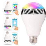 ZHIXIANG 6W RGB Bluetooth LED Ampoule Changement De Couleur Audio Mini Haut-Parleur Et Music Bulb avec Périphériques Bluetooth Contrôlés,Bluetooth de la marque ZHIXIANG image 1 produit