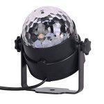 ZITFRI Lumière Discotheque, Boule Disco, Projecteur Lumière LED, Éclairage de Scène, Ampoule Boule Cristal à Commande Sonore Lampe pour Disco Soirée Anniversaire de la marque ZITFRI image 2 produit