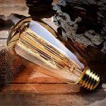 ZOOVQI 4 X Edison Ampoule E27 ST64 60W Ampoules à Incandescence 220V Rétro Antique Lampe de la marque ZOOVQI image 1 produit