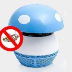 ZRN[G42] Puissance USB Lumière d'InsectesSûr et non ToxiqueType d'Aspiration UV LED Bug Zapper* Utilisé Pour le Camping et la vie en Plein Air (Chambre/Bureau) Une paire à vendre-Rose Et Bleu de la marque Bug Zapper image 2 produit