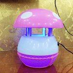 ZRN[G42] Puissance USB Lumière d'InsectesSûr et non ToxiqueType d'Aspiration UV LED Bug Zapper* Utilisé Pour le Camping et la vie en Plein Air (Chambre/Bureau) Une paire à vendre-Rose Et Bleu de la marque Bug Zapper image 3 produit