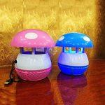 ZRN[G42] Puissance USB Lumière d'InsectesSûr et non ToxiqueType d'Aspiration UV LED Bug Zapper* Utilisé Pour le Camping et la vie en Plein Air (Chambre/Bureau) Une paire à vendre-Rose Et Bleu de la marque Bug Zapper image 4 produit