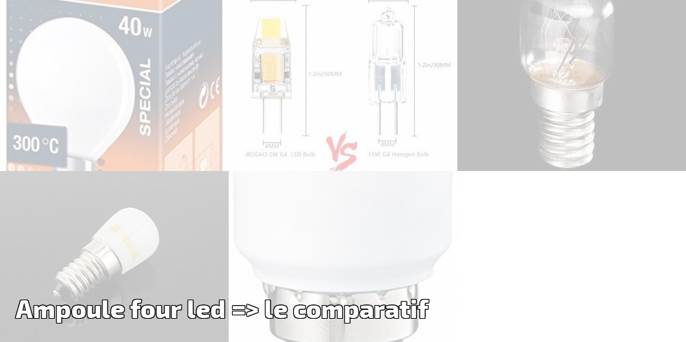 Pour Four Ledgt; Ampoule Comparatif Le 2019Ampoules mnwv0ON8