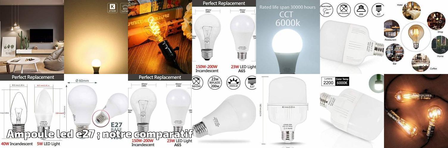 Led Ampoule Comparatif Pour Rcsxtqhd E27 ; 2019ampoules Notre qMSzVUp